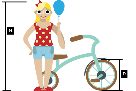Bike Sizes For Kids How To Measure Kids Bike Size Chart